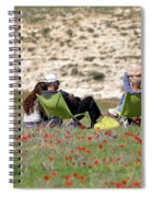 Serenity At Lachish Spiral Notebook