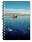 Serenity In The Sea Of Cortez  Spiral Notebook