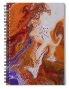 Serenity Print Spiral Notebook