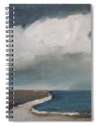 Serenity Under Clouds Spiral Notebook
