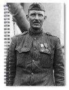 Sergeant York - World War I Portrait Spiral Notebook