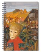 Sergei Esenin 1895-1925 As A Youth, Boris Grigoriev Spiral Notebook
