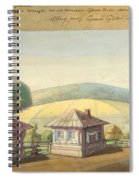 Sergei Sudeikin Russian 1882-1946 Stage Design Spiral Notebook