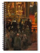 Sergey Dmitrievich Miloradovich Russian 1851-1943 Uspenskiy Cathedral, 1917 Spiral Notebook