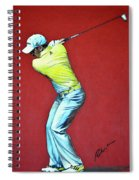 Sergio Garcia By Mark Robinson Spiral Notebook