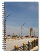 Seri Gemilang Bridge In Putrajaya Spiral Notebook