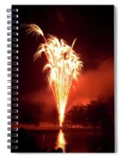 Series Of Fireworks 2 Spiral Notebook