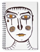 Serious Cry  Spiral Notebook