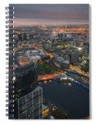Serious Sunset Spiral Notebook