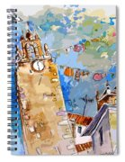 Serpa  Portugal 08 Bis Spiral Notebook