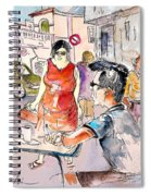 Serpa  Portugal 16 Spiral Notebook