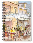 Serpa  Portugal 39 Spiral Notebook
