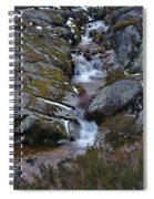 Serra Da Estrela Mountains And Waterfall Spiral Notebook