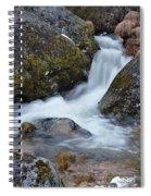 Serra Da Estrela Waterfalls. Portugal Spiral Notebook