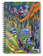 Sertig Path In Summer Spiral Notebook