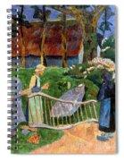 Serusier: Barriere, 1889 Spiral Notebook
