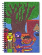 Children's Characters Spiral Notebook