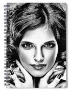 Sesilya Bw Spiral Notebook