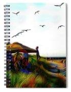 Sesuit Tetraptych 2 Spiral Notebook
