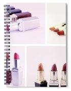 Set Of Lipsticks For Woman Beauty Spiral Notebook