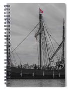 Set Sail For America Spiral Notebook