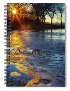 Setting On Thin Ice Spiral Notebook