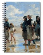 Setting Out To Fish Spiral Notebook