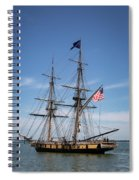 Setting Out To Sail Spiral Notebook