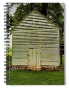Setting Pen And Chicken Coop Spiral Notebook