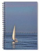 Setting Sail 2 Spiral Notebook