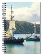 Setting Sail Spiral Notebook