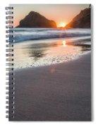 Setting Sun, No. 1 Spiral Notebook