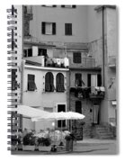 Setting The Scene Spiral Notebook