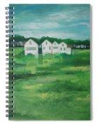 Settlement By Field Spiral Notebook