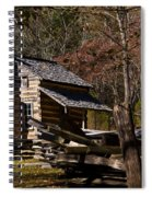 Settlers Cabin Cades Cove Spiral Notebook