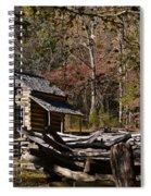 Settlers Cabin Spiral Notebook