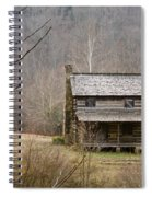 Settlers Cabin In Cades Cove Spiral Notebook