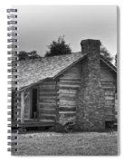 Settlers Cabin Tennessee Spiral Notebook