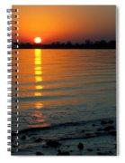 Settling Sun Spiral Notebook