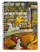 Seurat: Circus, 1891 Spiral Notebook
