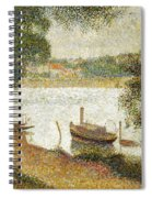 Seurat: Gray Weather Spiral Notebook