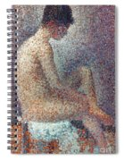 Seurat: Model, 1887 Spiral Notebook