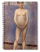 Seurat: Model, C1887 Spiral Notebook