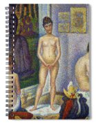 Seurat: Models, C1866 Spiral Notebook