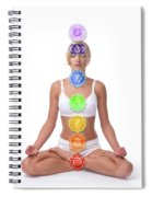 Seven Chakras Spiral Notebook