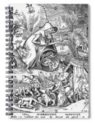 Seven Deadly Sins: Anger Spiral Notebook