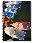 Seven Spiral Notebook