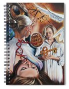 Seven-fold Spirit Of The Lord Spiral Notebook