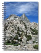 Seven Gables Over Seven Gables Lakes - Sierra Spiral Notebook