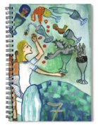 Seven Of Cups And Strange Dreams Spiral Notebook